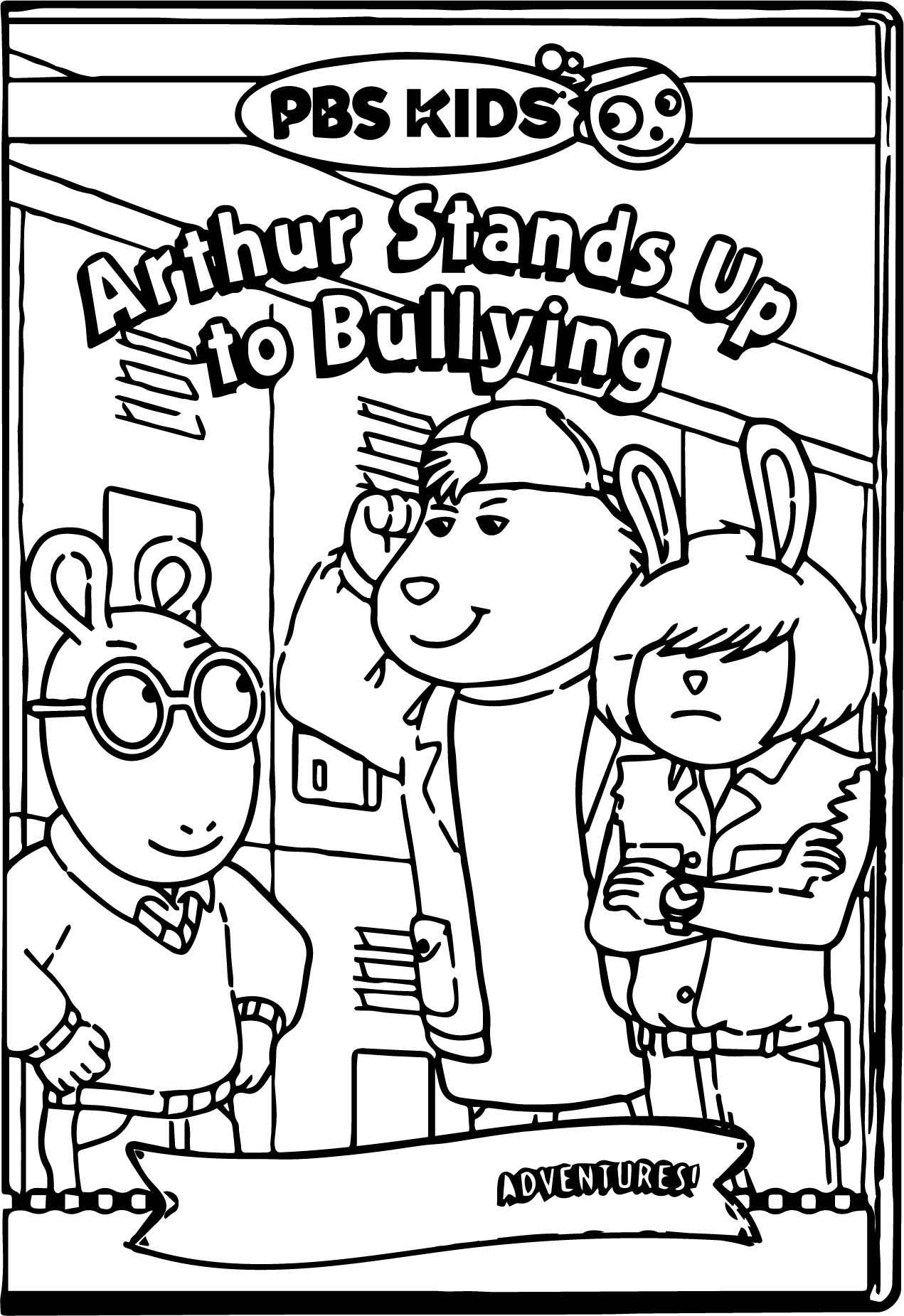 Arthur pbs kids coloring pages for Pbskids coloring pages