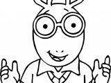 Arthur Photo Coloring Page