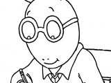 Arthur Write Coloring Page