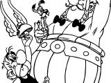 Asterix Plain Coloring Page
