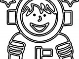 Astronaut We Coloring Page