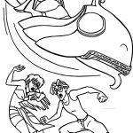 Atlantis The Lost Empire Adventure Coloring Page