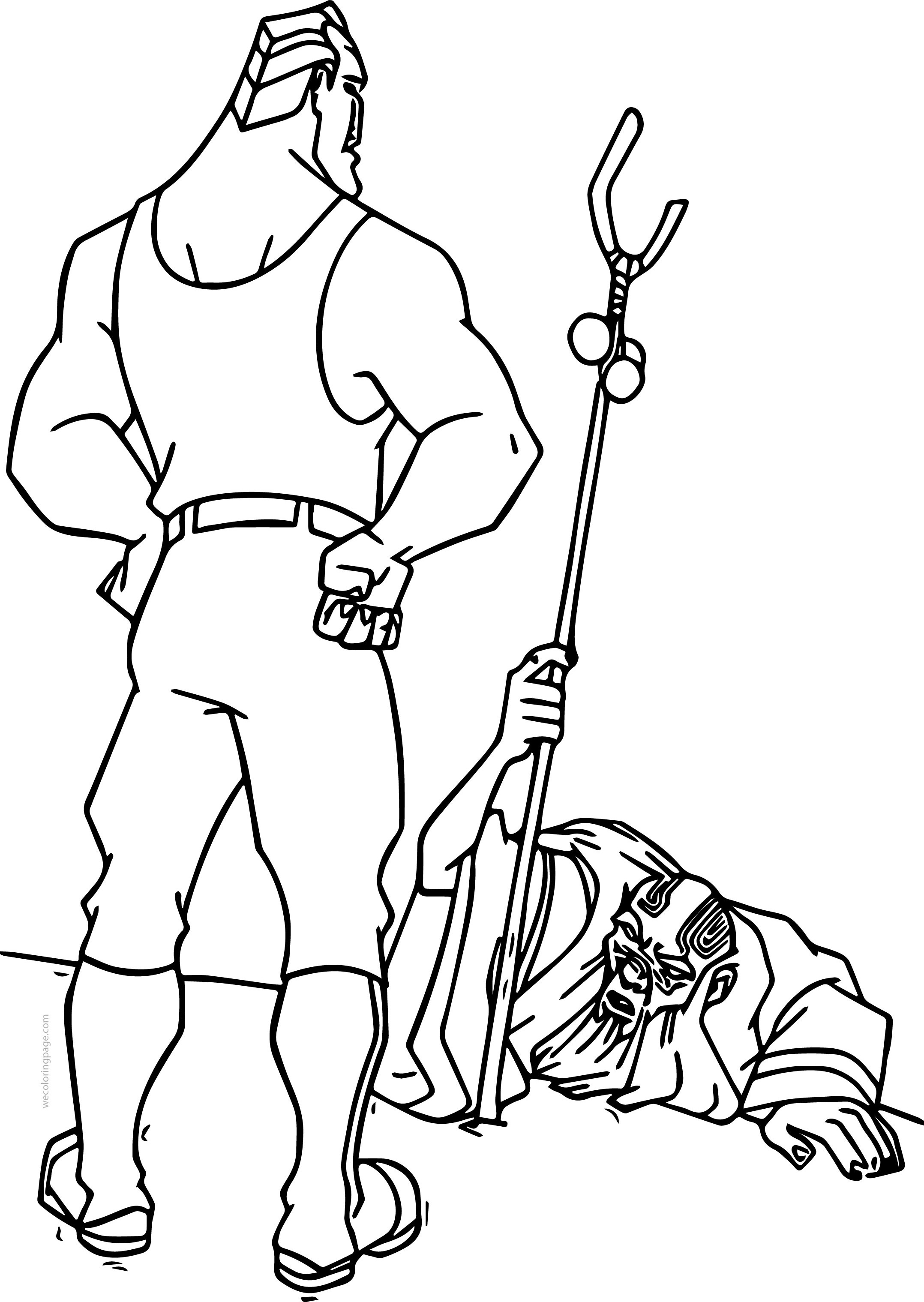 Atlantis The Lost Empire Cartoon Coloring Page