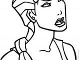 Atlantis The Lost Empire Helga Coloring Page