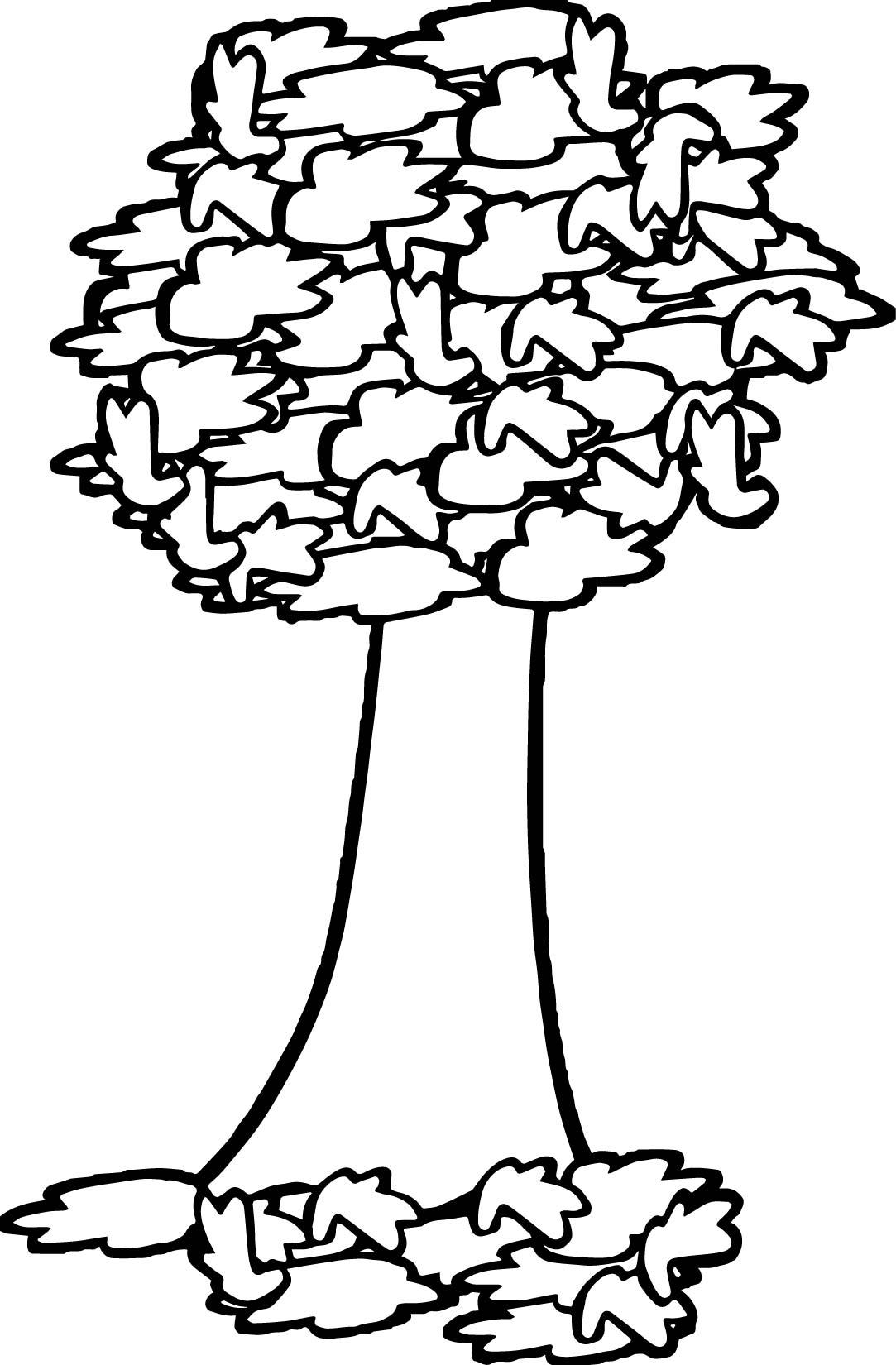 fall tree coloring pages eliolera com