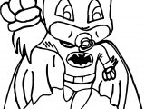 Baby Batman Coloring Page