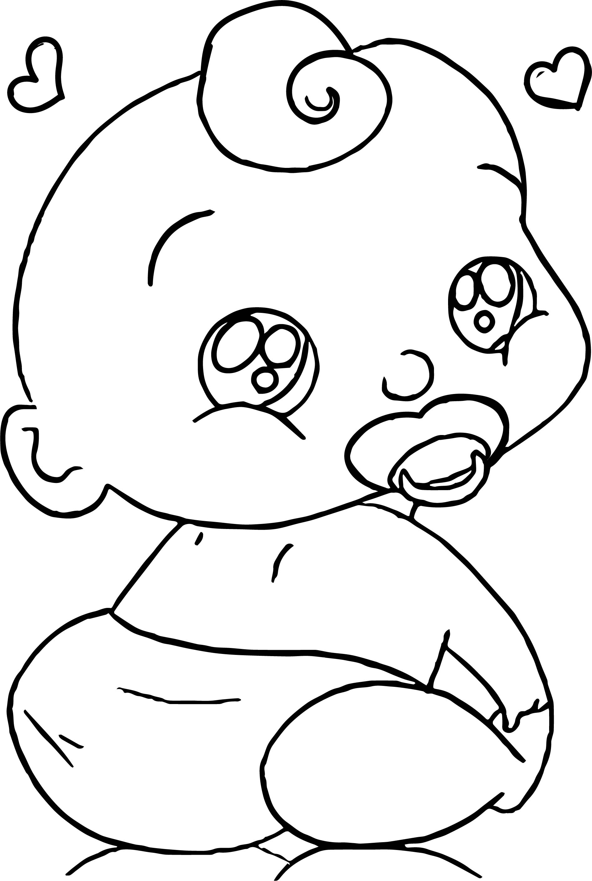 baby boy cartoon faces coloring page wecoloringpage