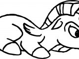 Baby Hercules and Baby Pegasus Horse Coloring Pages