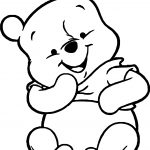 Baby Pooh What Coloring Page