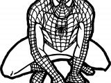 Baby Spiderman Free Spider Man Coloring Page