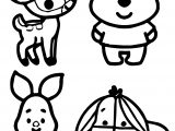 Baby Winnie The Pooh Disney Coloring Page