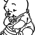 Baby Winnnie Coloring Page