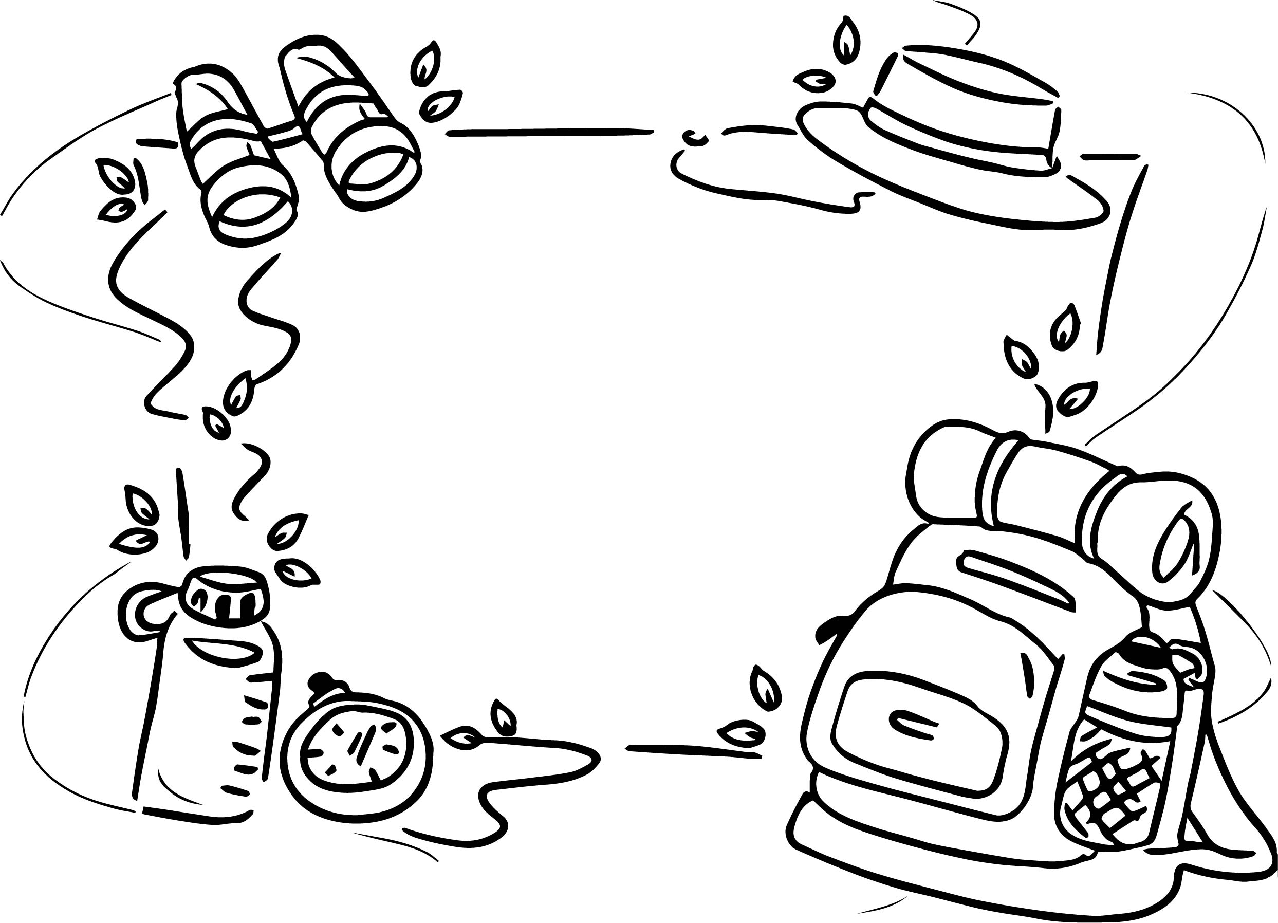 Background camp camping coloring page for Camp coloring pages