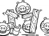 Bad Piggies Coloring Page