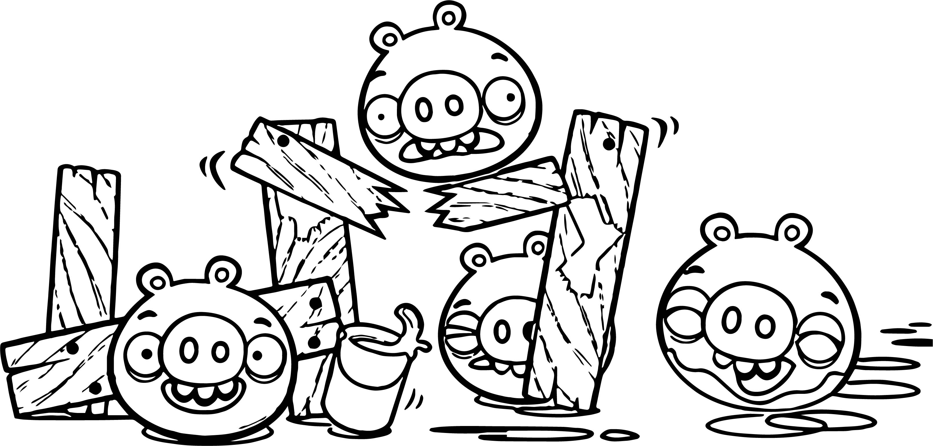 Bad Piggies Coloring Page | Wecoloringpage.com