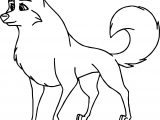 Balto Base Wolf Coloring Page