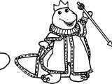 Barney Bj Baby Bop Royalty Coloring Page