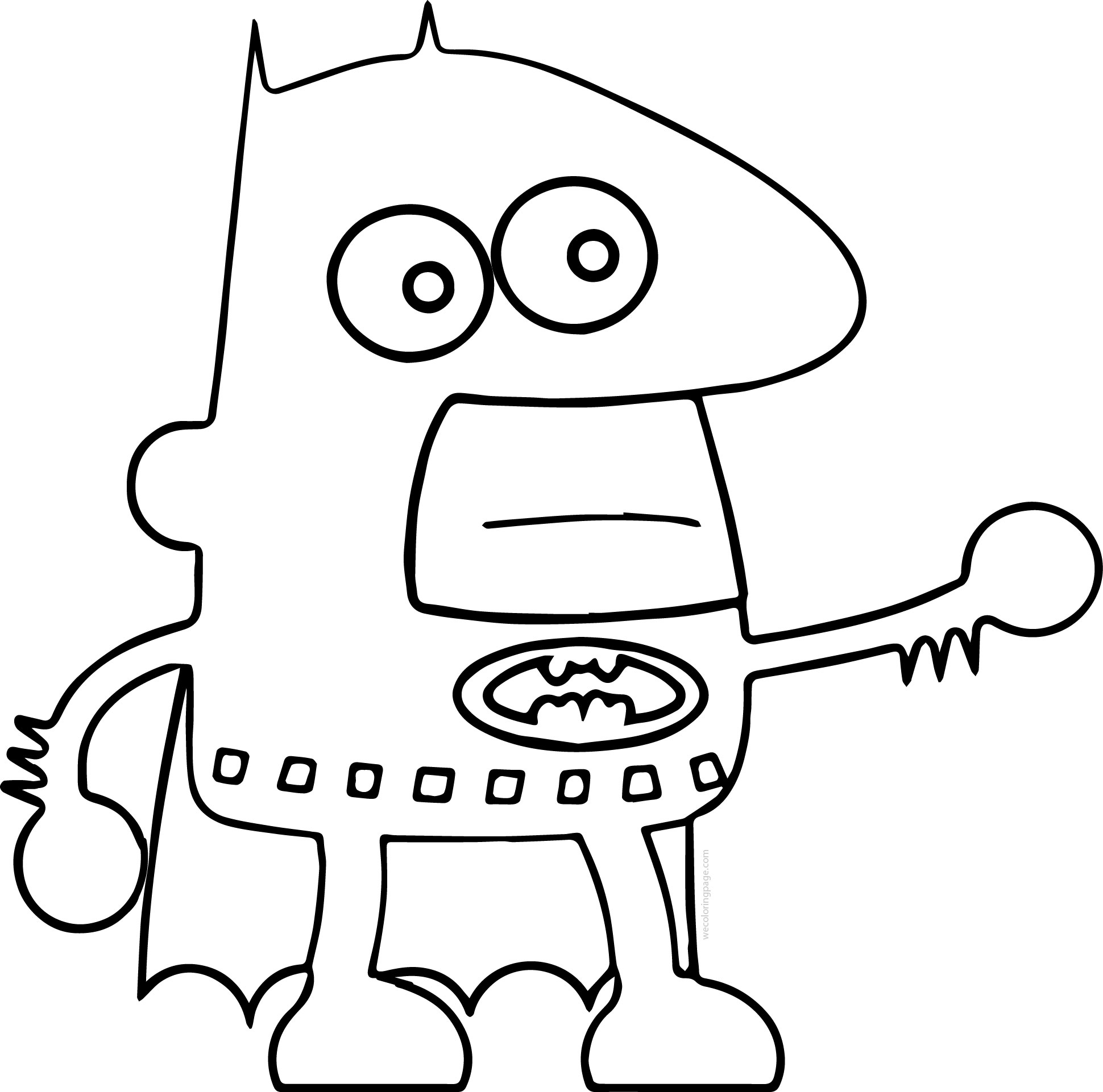 Batman Comics Cartoon Coloring Page