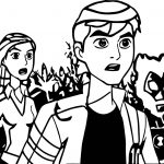Ben 10 Alien Force Episode Everybody Talks About The Weather Ben 10 Alien Force Coloring Page