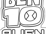 Ben 10 Alien Force Logo Coloring Page