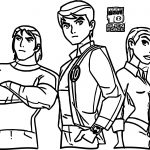 Ben 10 Alien Force Products Coloring Page