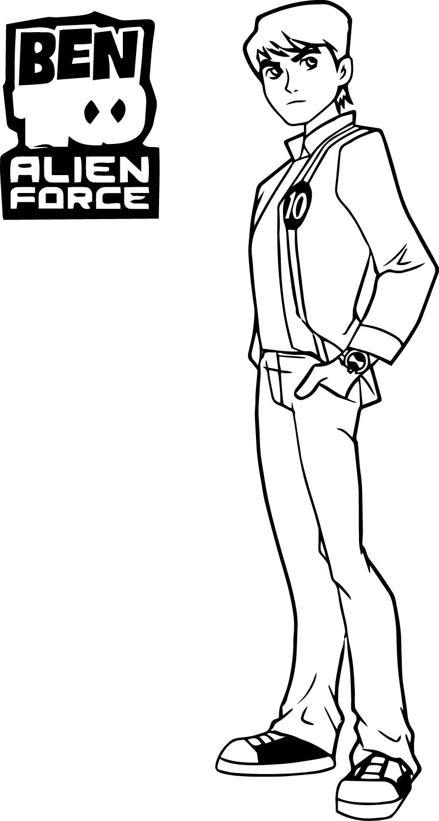 Ben 10 Alien Force Wecoloringpage Coloring Page