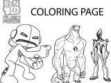 Ben10 Aliens Coloring Page