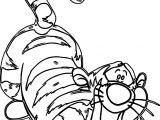 Bewildered Tigger Coloring Page