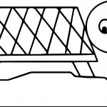 Bewildered Tortoise Turtle Coloring Page