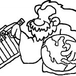 Bible Creation Coloring Page