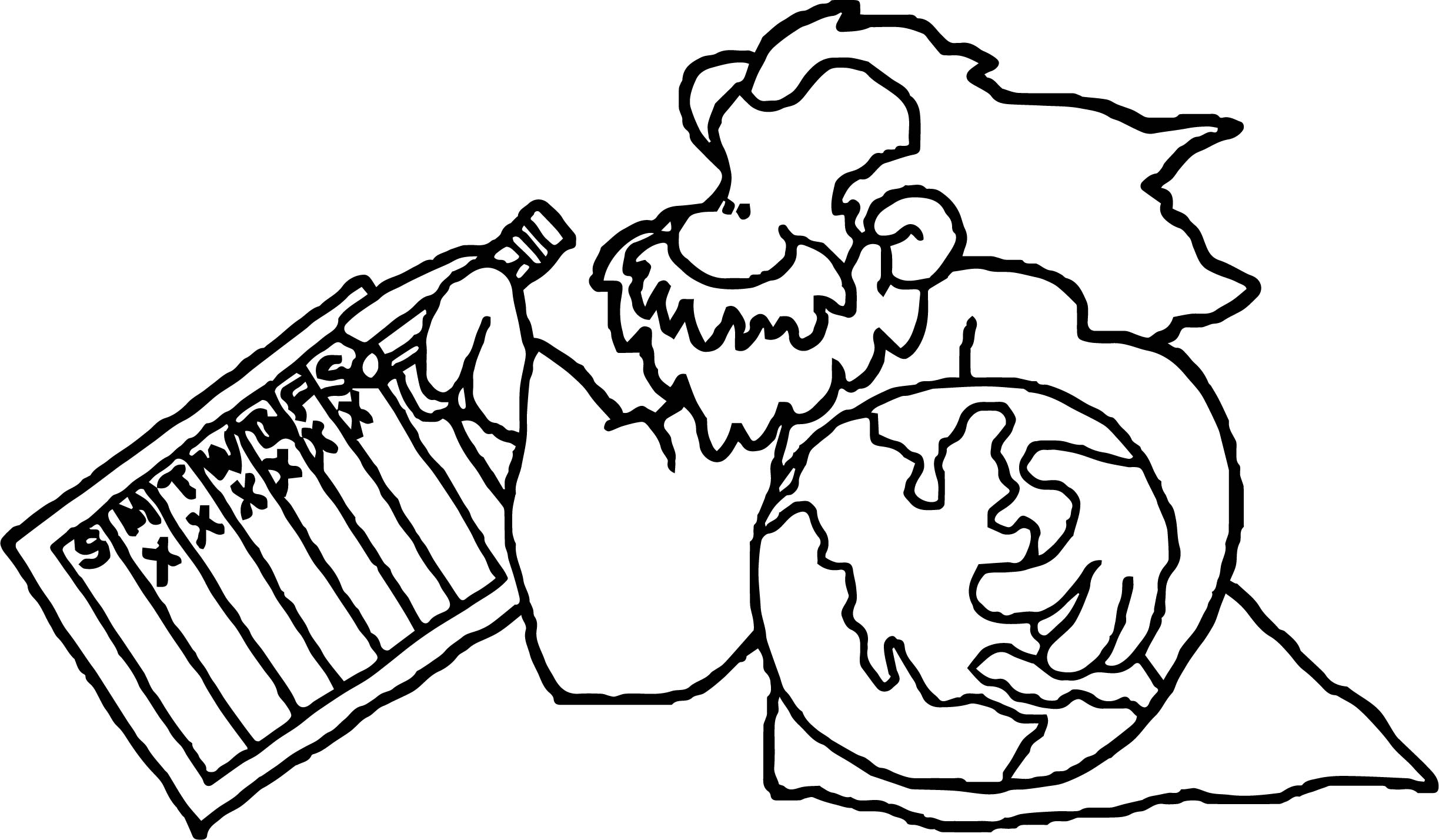 Bible creation coloring page for Bible creation coloring pages