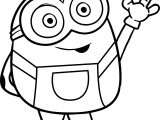 Bye Bye Bob From Minions Coloring Page