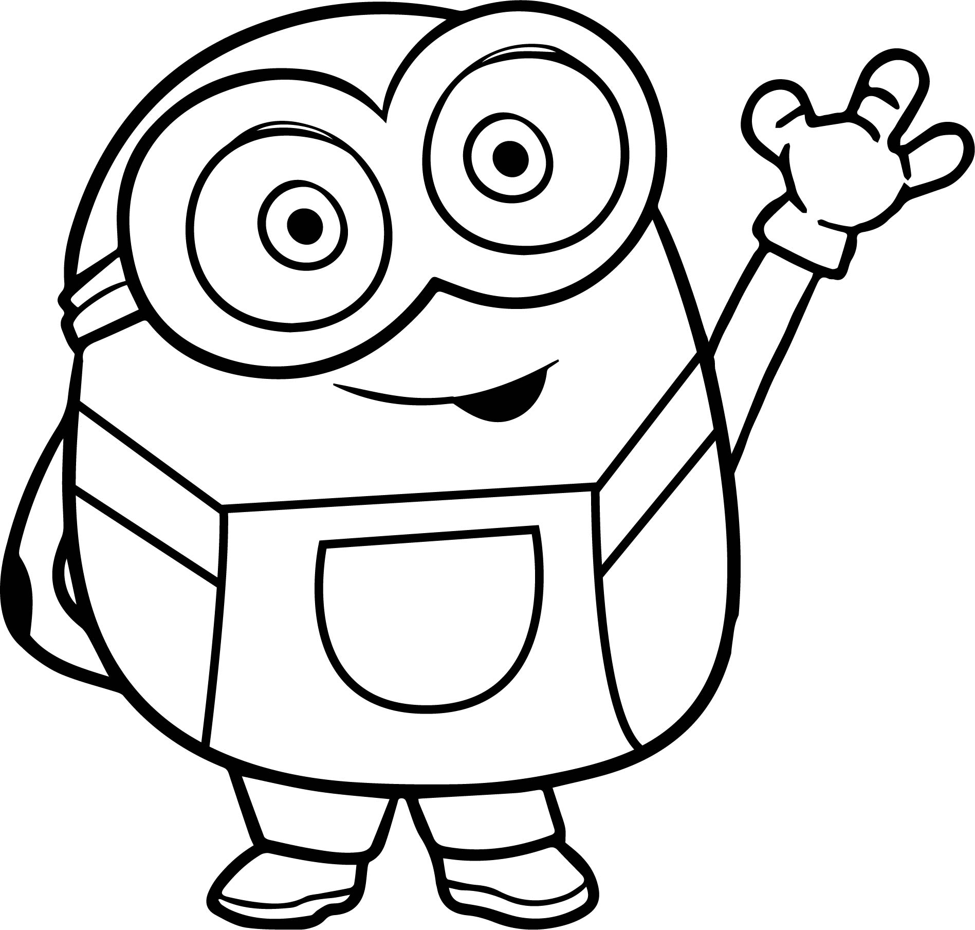 93 100 Awesome Minions Coloring Pages Wecoloringpage