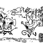 Camp Lazlo Cartoon Network Coloring Page