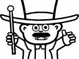 Character Design Magic Man Coloring Page