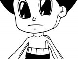 Chibi Astro Boy Coloring Page