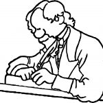 Dickens Author Charles Dickens Coloring Page