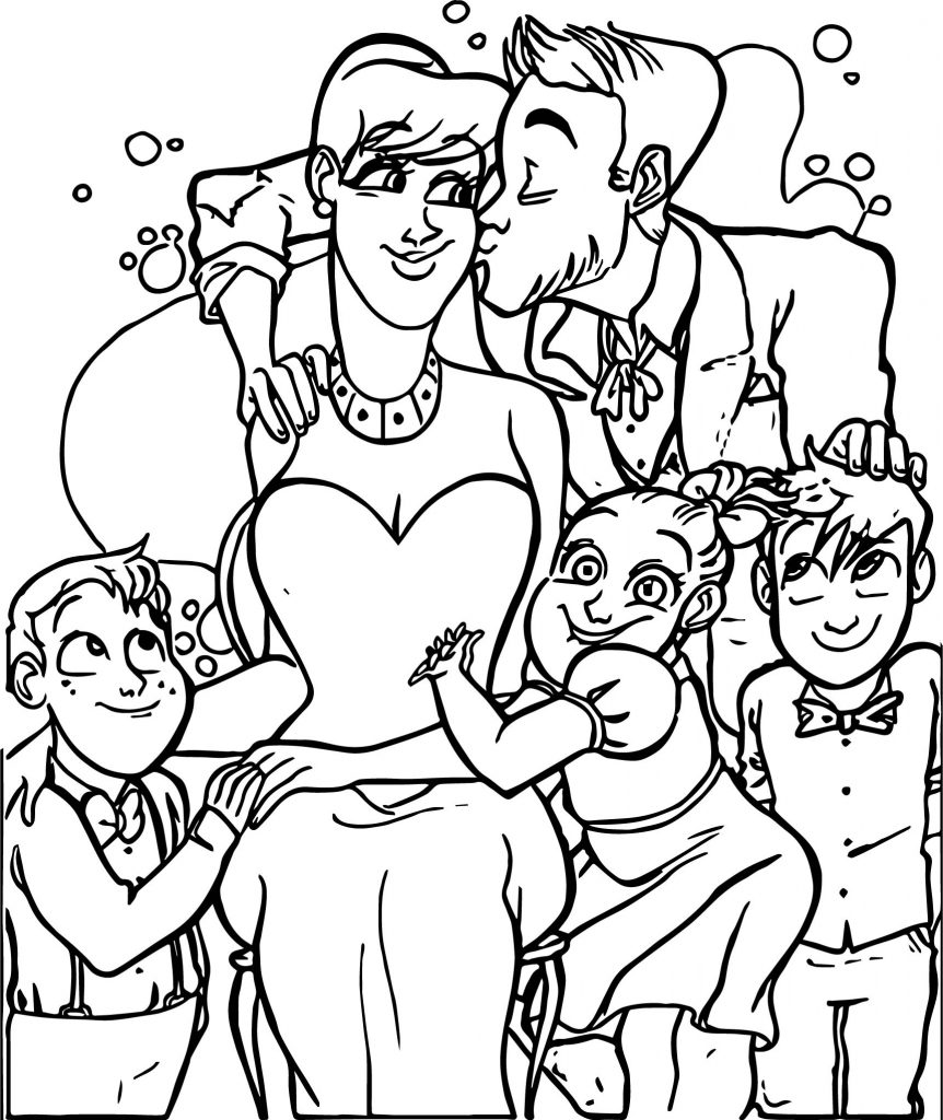Aristocats Coloring Pages Family - Worksheet & Coloring Pages