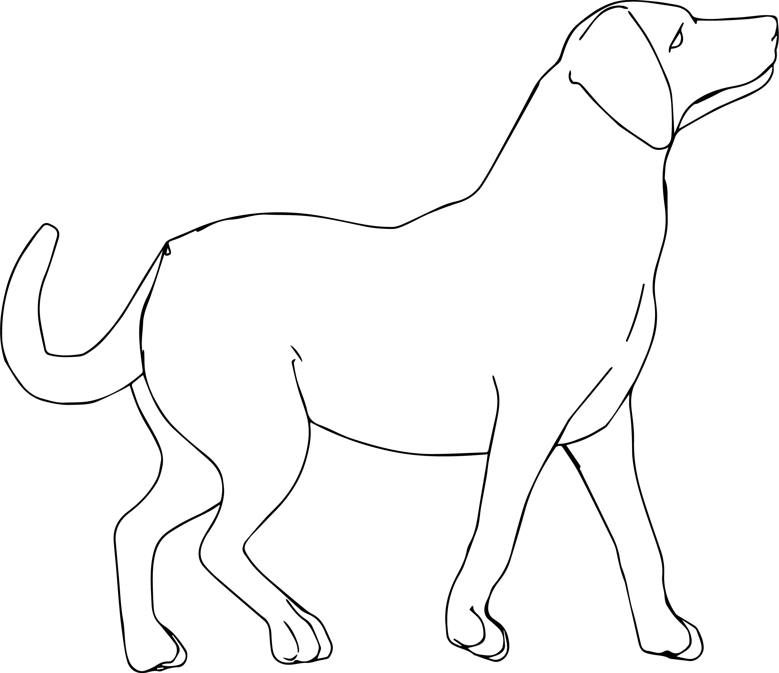 Disney Puppy Dog Coloring Page