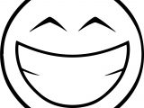 Emoticom Happy Emology Smiley Coloring Page