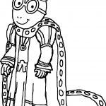 Emperor Arthur Coloring Page