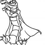 Fantasia Benali Crocodile Coloring Pages