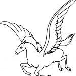 Fantasia Pegasus Coloring Pages