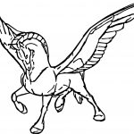 Fantasia Pegasusf Fly Coloring Pages