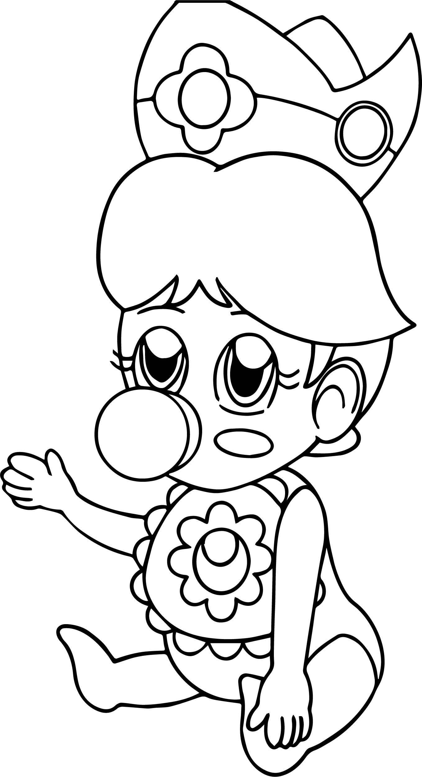 Fine daisy coloring page for Daisy coloring page