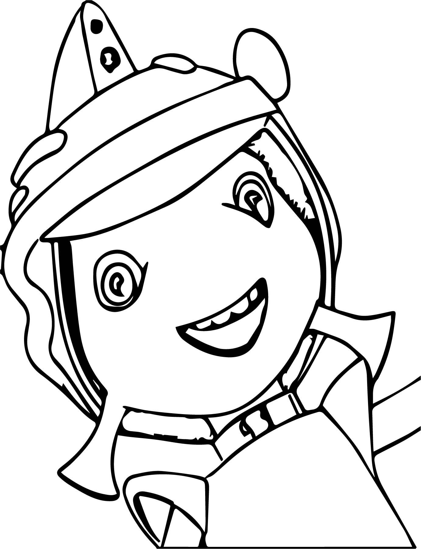 Floogals Character Coloring Page