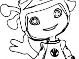 Floogals Girl Coloring Page