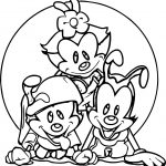 Foi Animaniacs Coloring Page