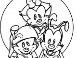 Foi Animaniacs Coloring Page