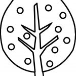 Full Apple Tree Coloring Page